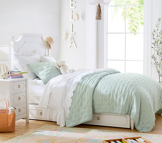 Ava Regency Without Footboard Bed, Queen Bed No Footboard