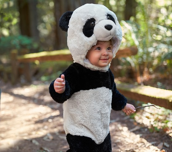 Animal Hats for Babies Fun Baby Hats Baby Panda Outfit Panda Hat Panda Baby Diaper Cover Baby Animal Outfit Baby Panda Hat