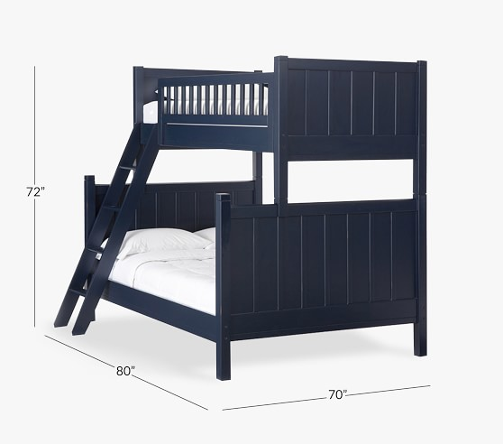 Camp Twin Over Full Kids Bunk Bed Pottery Barn Kids