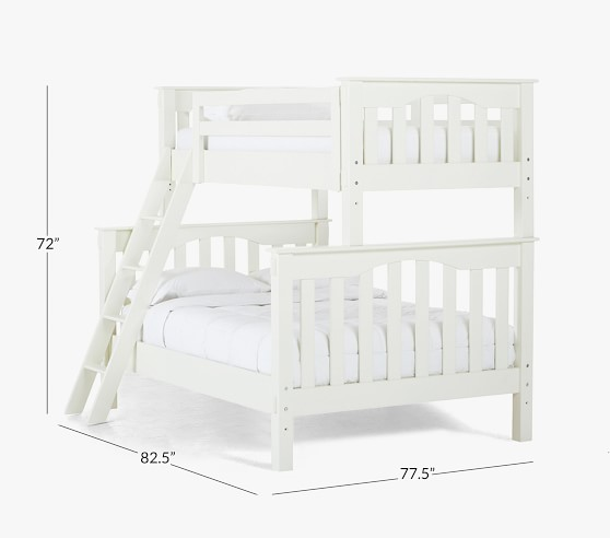 Kendall Twin Over Full Kids Bunk Bed Pottery Barn Kids
