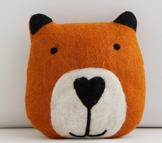 Woodland Fox Pillow Pottery Barn Kids