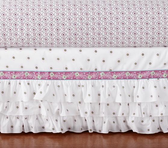Brooklyn Crib Bedding Set Pottery, Brooklyn Crib Bedding