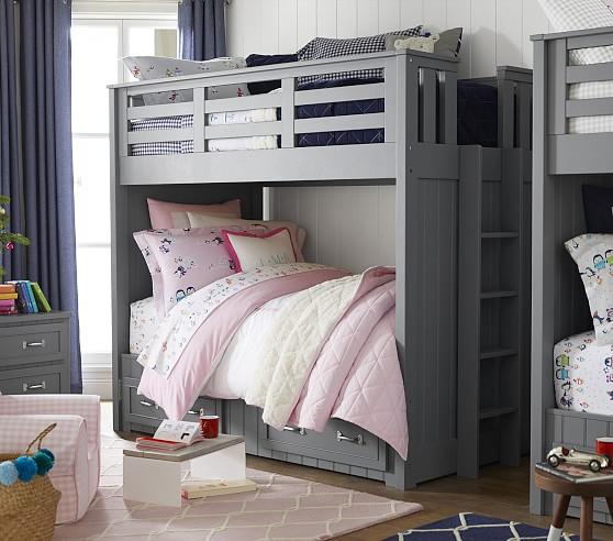 Belden Twin Over Twin Kids Bunk Bed Pottery Barn Kids