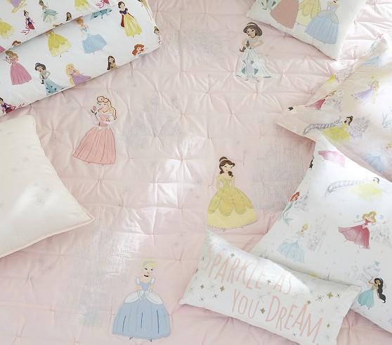 Disney Princesses Fabric Children/'s Lamp Shade M2M Pottery Barn Kids Bedding