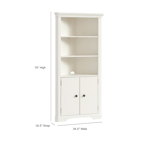 Larkin Corner Bookcase Pottery Barn Kids