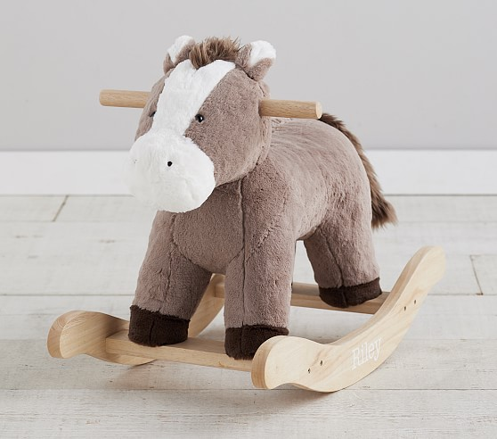 Rocking horse Rocking horse for baby Rocking horse for girl- Rocking horse wooden Rocking horse nursery Personalised gift
