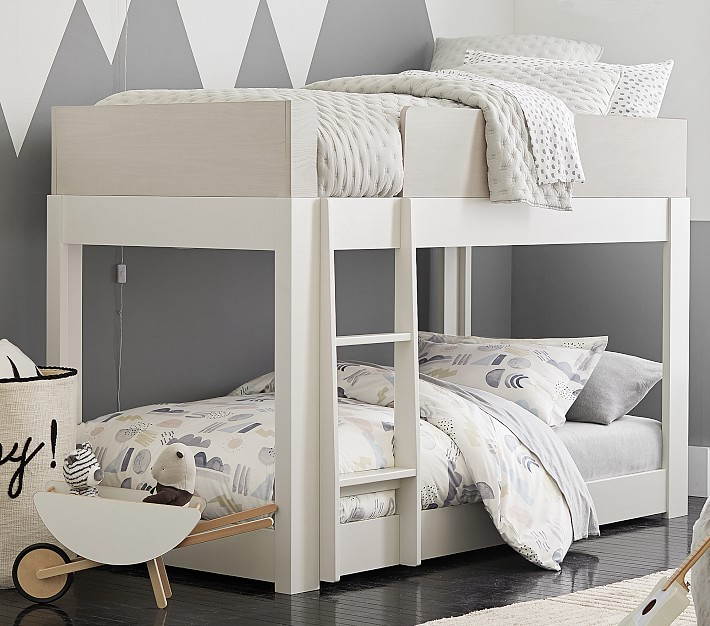 Milo Twin Over Twin Low Bunk Bed Pottery Barn Kids