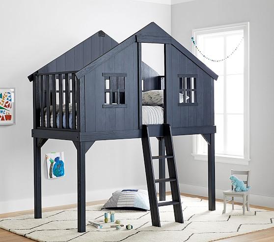 Treehouse Loft Bed Pottery Barn Kids