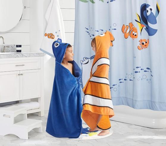 Disney And Pixar Finding Nemo Shower, Finding Nemo Bathroom Decor