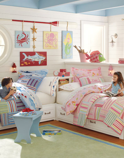 Boy And Girl Room Ideas Boy And Girl Shared Room Pottery Barn Kids