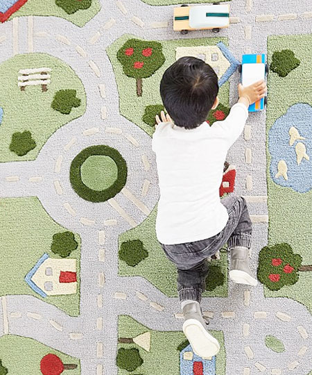 play in the park road rug