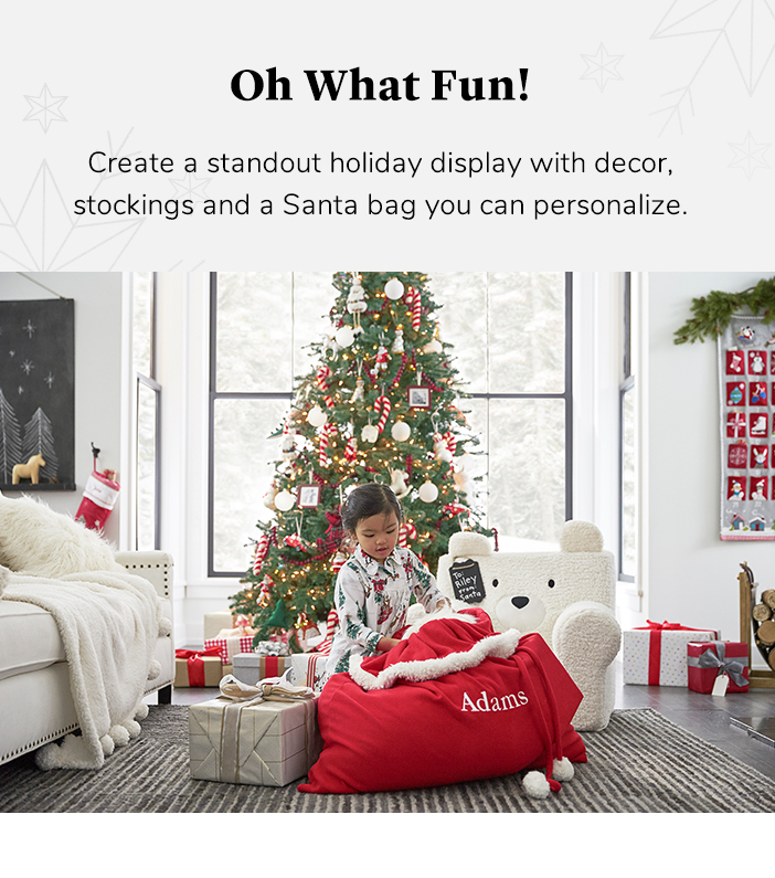 Christmas Decorations For Kids Pottery Barn Kids