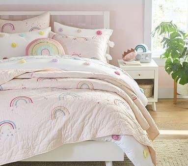 Molly Rainbow Kids Comforter Set Pottery Barn Kids