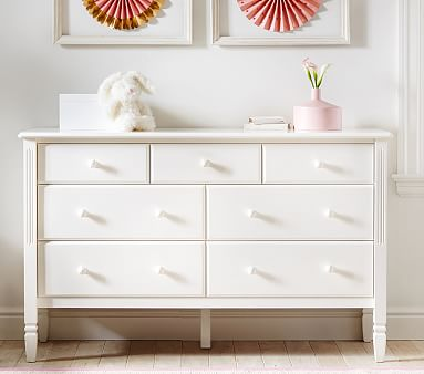 Madeline Extra Wide Kids Dresser Pottery Barn Kids
