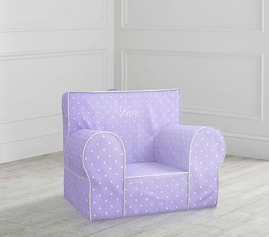 My First Lavender Pin Dot Anywhere Chair 174 Toddler