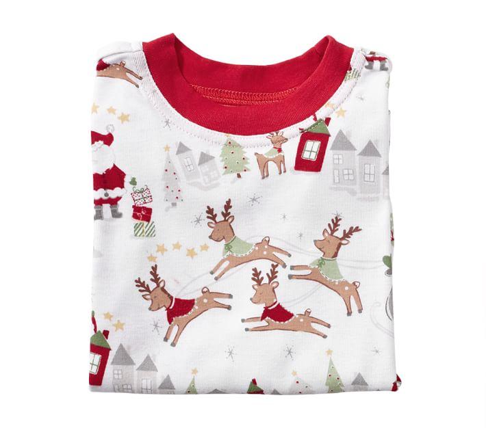North Pole Tight Fit Kids Pajama Pottery Barn Kids