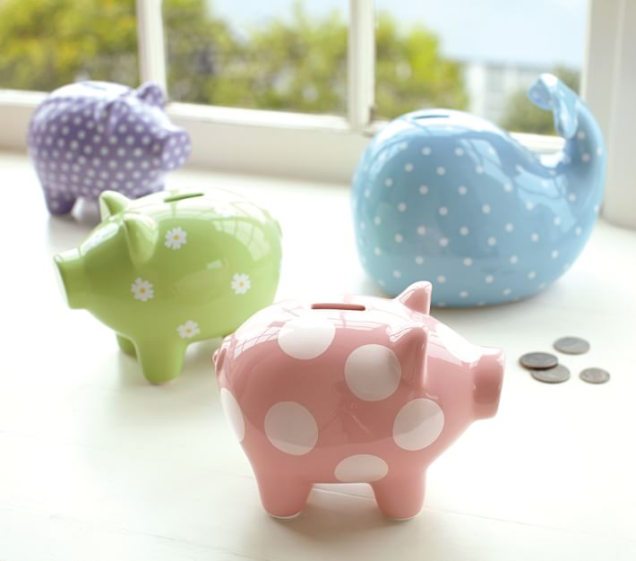 Whale Coin Bank For Kids Pottery Barn Kids