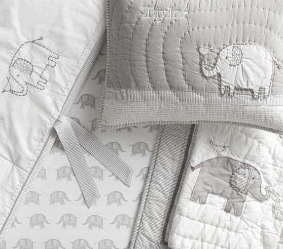 Elephant Baby Bedding Crib