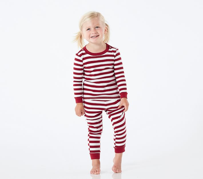 Classic Stripe Tight Fit Kids Pajamas Pottery Barn Kids