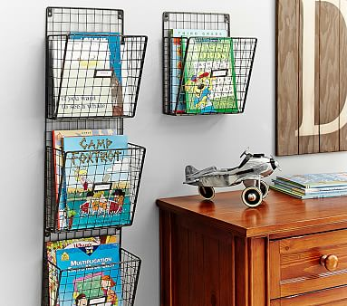 Wired Kids Magazine Rack Pottery Barn Kids