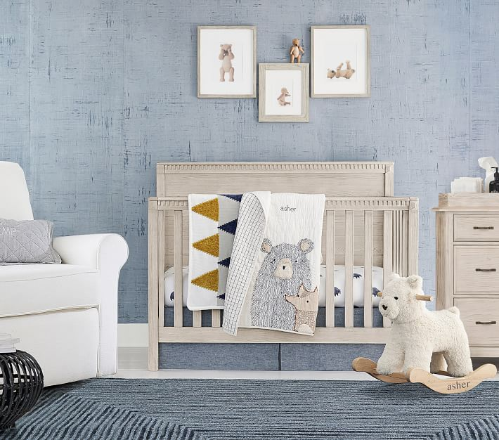 Rory 4 In 1 Convertible Baby Crib Pottery Barn Kids