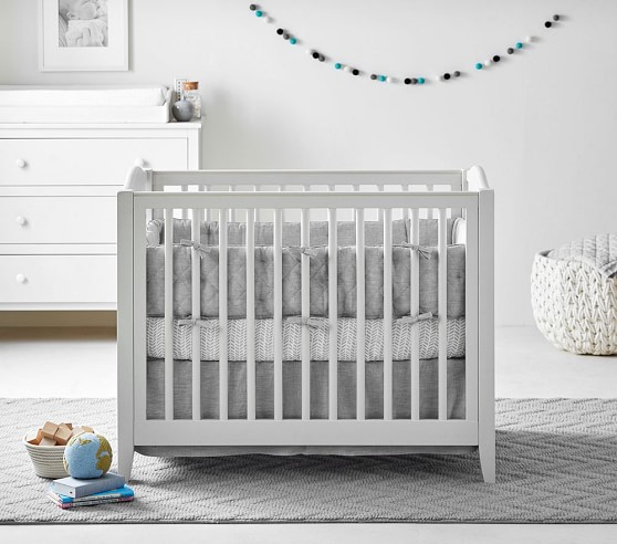 Emerson Mini Baby Crib Mattress Set