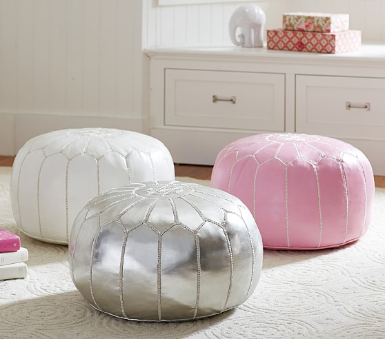 Moroccan Floor Pouf Kids Lounge