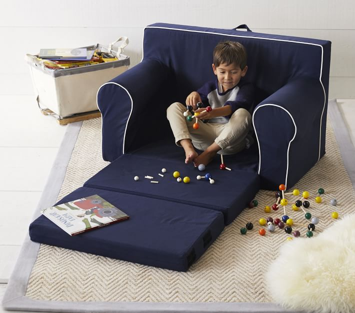 Boys Chenille Jute Thick Solid Border Rug Solid Color