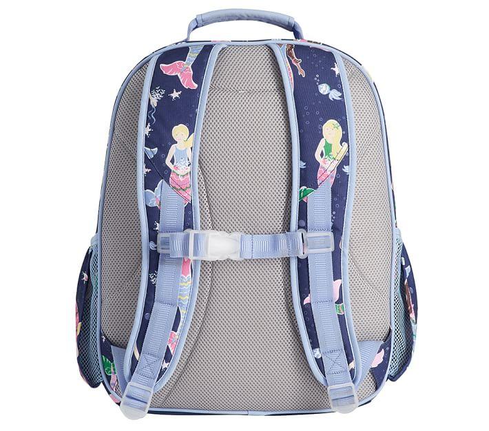 Mackenzie Navy Mermaid Kids Backpack Pottery Barn Kids