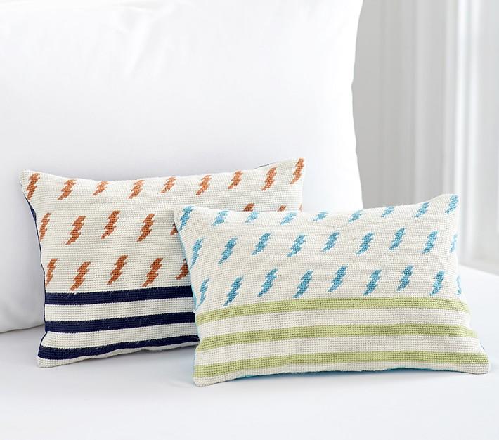 Lightning Bolt Decorative Kids Pillows