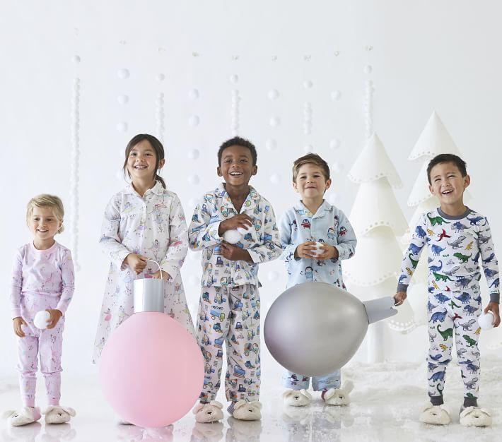 Dino Safari Tight Fit Kids Pajamas Pottery Barn Kids