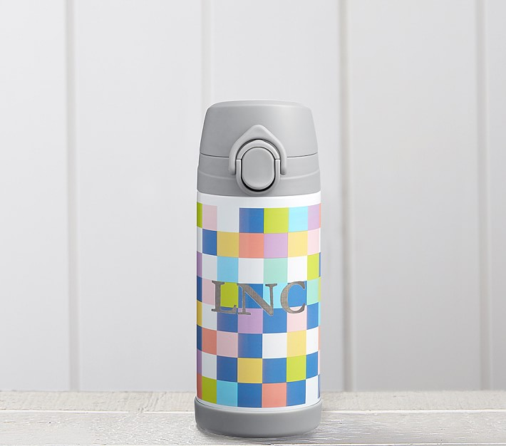 Mackenzie Bright Pixels Regular Water Bottle Pottery