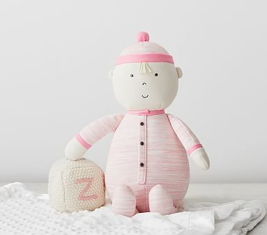 Soft Baby Doll Reese Dolls For Girls Pottery Barn Kids