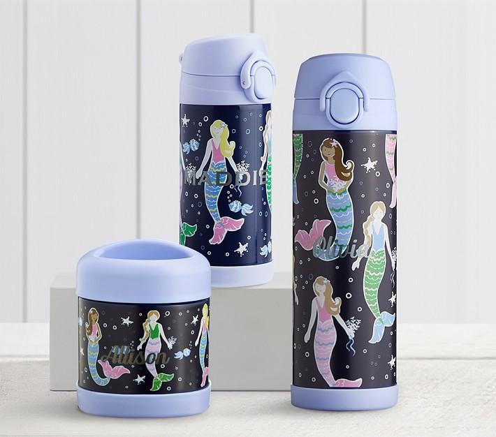 Mackenzie Navy Mermaid Kids Water Bottles Amp Thermos