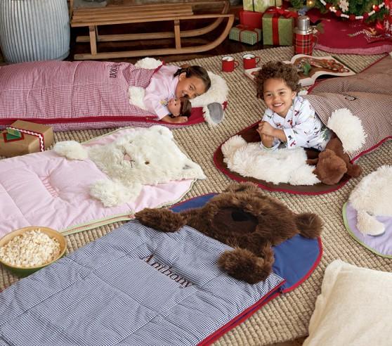 Gy Cat Toddler Kids Sleeping Bag