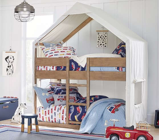 Tent Kids Bunk Bed Pottery Barn