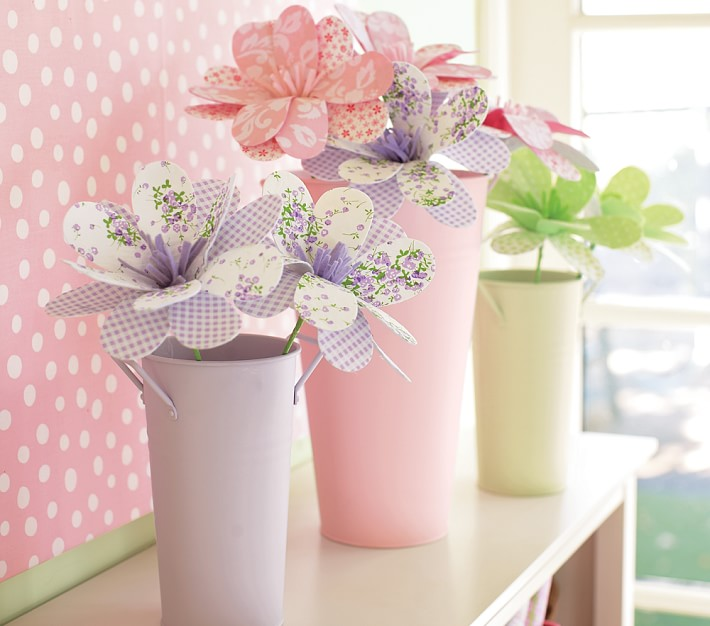 Flower Market Buckets Amp Botanicals Pottery Barn Kids