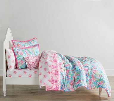 Lilly Pulitzer Mermaid Cove Bedding Set Pottery Barn Kids