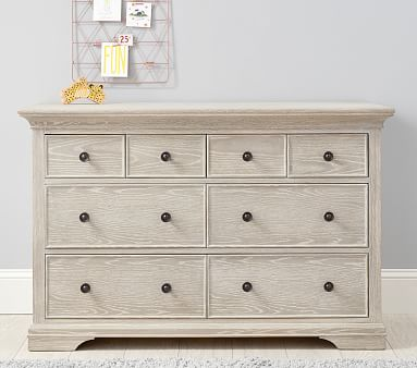 Larkin Extra Wide Nursery Dresser Pottery Barn Kids