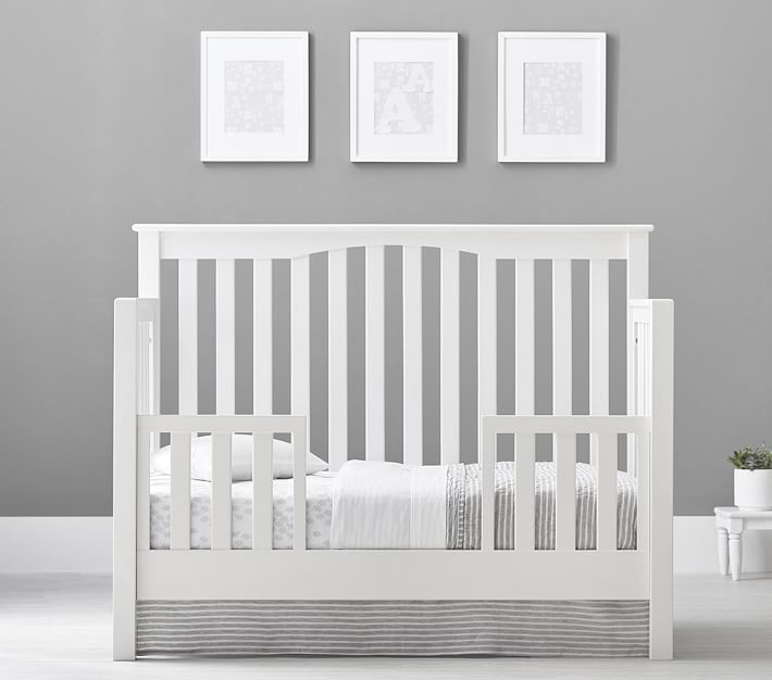 Kendall 4-in-1 Toddler Bed & Conversion Kit | Pottery Barn ...
