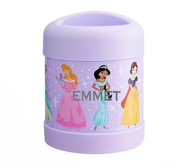Mackenzie Lavender Disney Princess Water Bottles Pottery