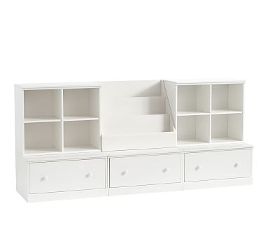 Cameron Wall 3 Drawer Base Set Playroom Storage