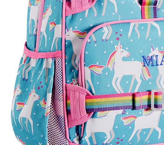Aqua Unicorn Kids Backpack Pottery Barn Kids