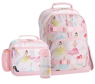 Potterybarn Mackenzie Disney Princess Castle Shimmer Backpack & Cold Pack Lunch Bundle, Set Of 3
