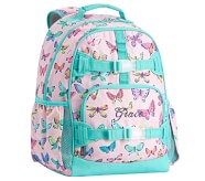 Potterybarn Mackenzie Pink Rainbow Butterflies Backpacks