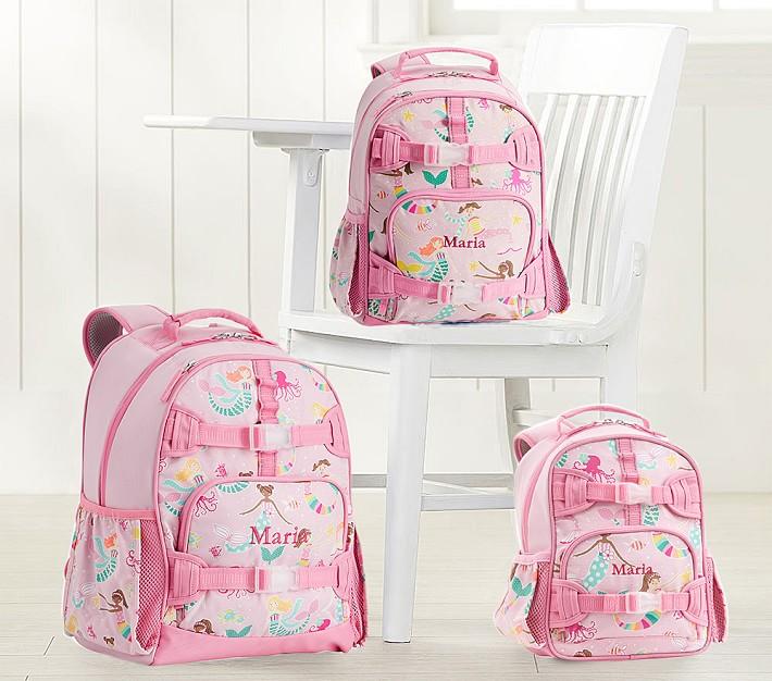 Mackenzie Pink Mermaid Friends Glow In The Dark Backpacks
