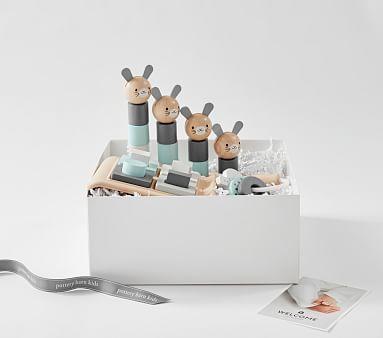 Potterybarn Plan Toys x pbk Play Time Gift Set
