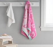 Potterybarn Mermaid Kid Hooded Towel