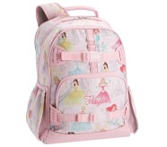 Potterybarn Mackenzie Disney Princess Castle Shimmer Kids Backpack