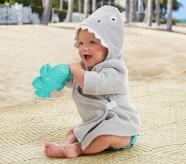 Potterybarn Shark Baby Critter Robe